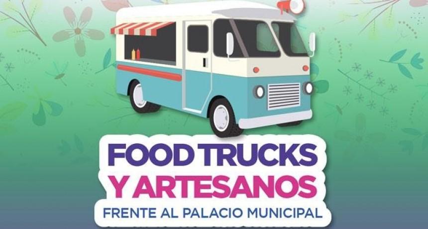 Campana: Vuelven los artesanos y food trucks a la plaza Eduardo Costa