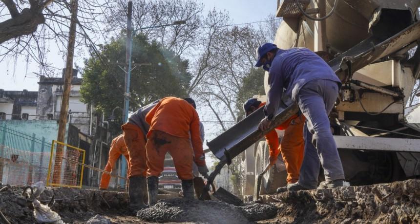 Vicente López: Avanza la obra hidráulica en Florida Oeste que beneficiará a más de 50 mil vecinos
