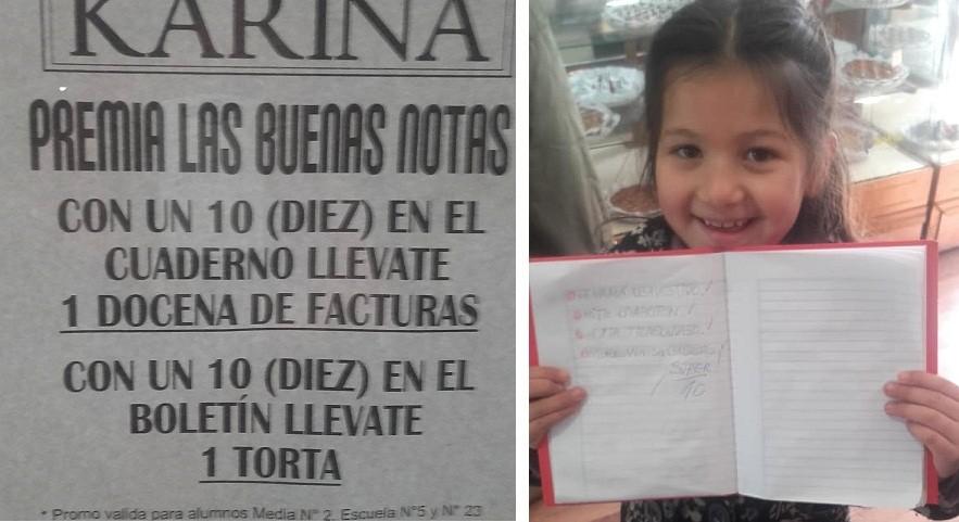 Mariano Acosta: Un panadero regala facturas a alumnos que sacan 10 en la escuela