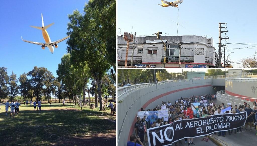 """El Palomar: Denuncian que """"hay rajaduras en casas y la gente no duerme"""""""