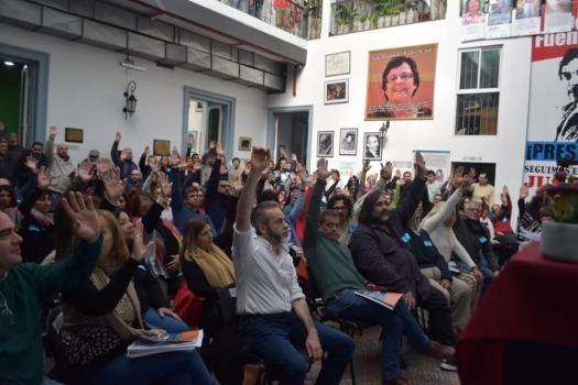 Desde CTERA exigen bono de $ 5.000 y un aumento del incentivo docente