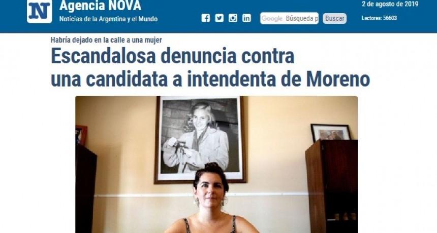 """Moreno: Portal platense señala a """"Mariel Fernández como responsable de manejos fraudulentos en cooperativas"""""""