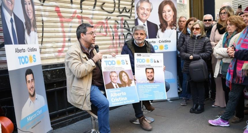 """Germán Martínez: """"Necesitamos volver a tener un gobierno donde la ciencia y la educación sean prioridad"""""""
