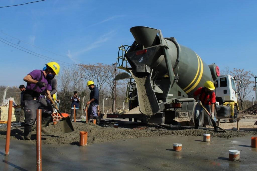Luján: continúan los trabajos de mejoramiento del Basural Municipal