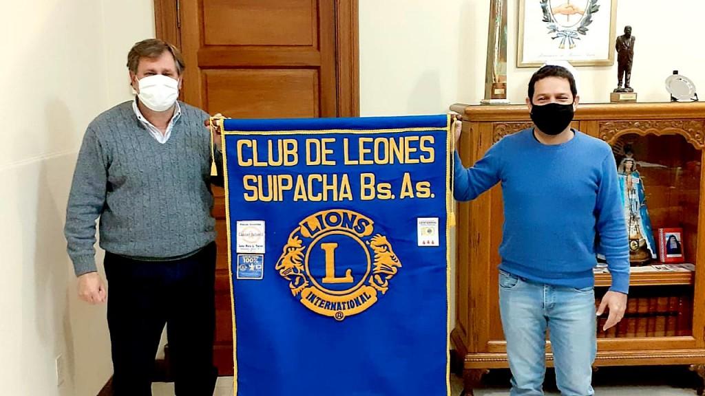 Suipacha: El Hospital recibió un valioso aporte del Club de Leones