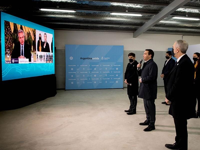 Florencio Varela: Watson y Kicillof inauguraron la obra de ampliación en la Unidad Penitenciaria 32