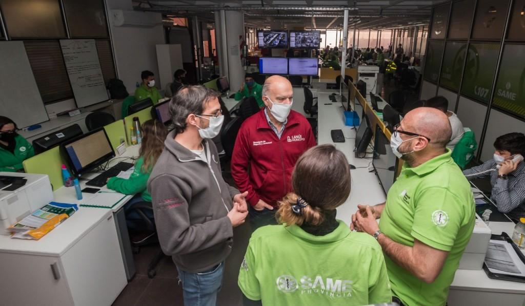 Lanús: 96 agentes de salud realizan un seguimiento diario en más de 15 mil vecinos afectados por el COVID-19