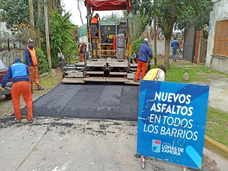 L. de Zamora: En las localidades de Temperley Oeste y Turdera ya no hay ninguna calle de tierra