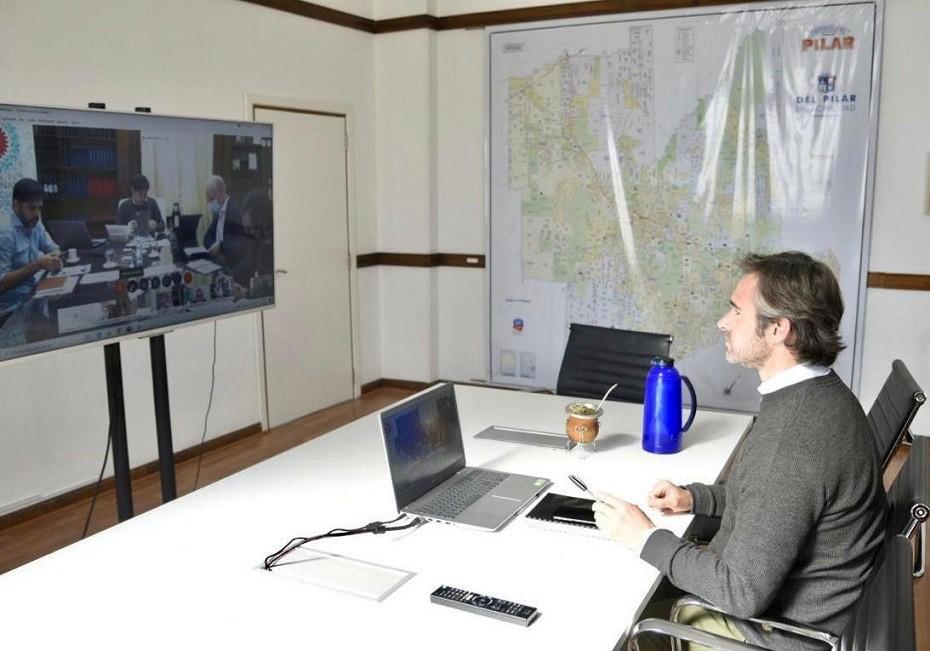Pilar: Achával participó de reunión con Kicillof sobre la situación epidemiológica
