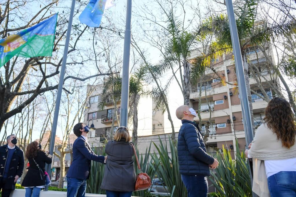 Juan Andreotti homenajeó al Gral. San Martín en el 170° aniversario de su paso a la inmortalidad