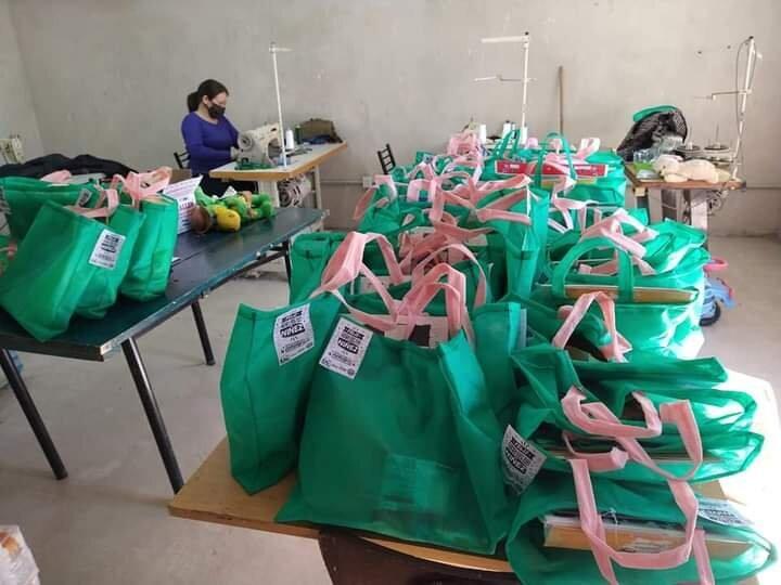 Luján: La organización Frente Patria Grande entregó regalos en los barrios