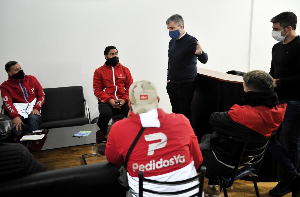 """Hurlingham: Zabaleta lanzó el programa """"Reparto Seguro"""""""