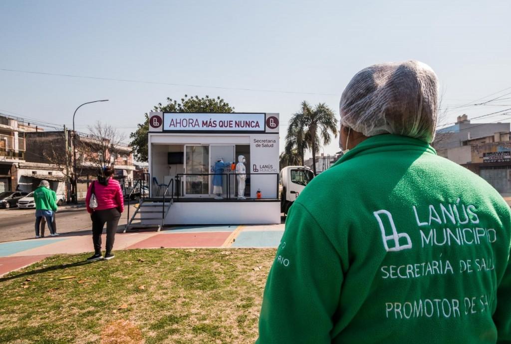 Ya son casi 8500 las viviendas visitadas en el operativo casa por casa de Lanús
