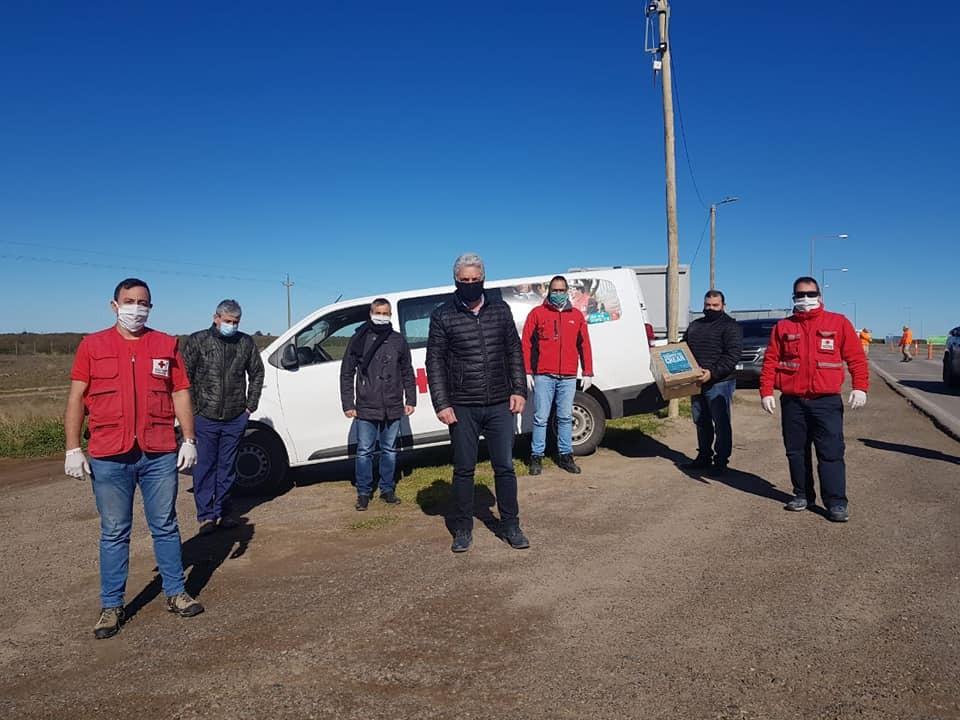La Cruz Roja Argentina entregó material lúdico para el Hogar de Patagones