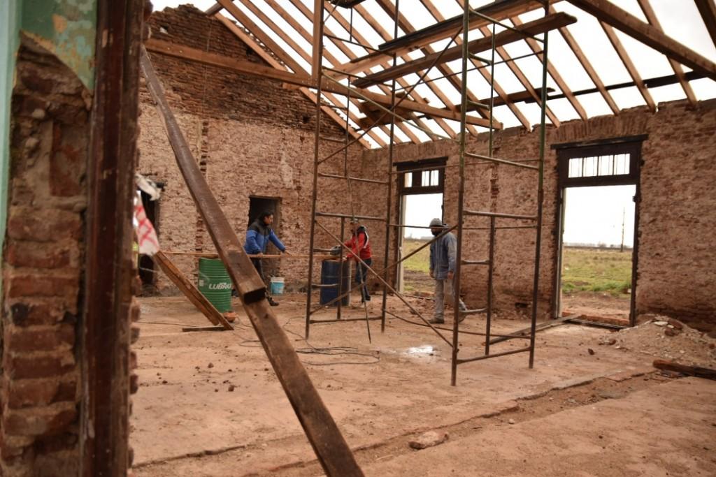Lobería: Construcción de la escuela de estética