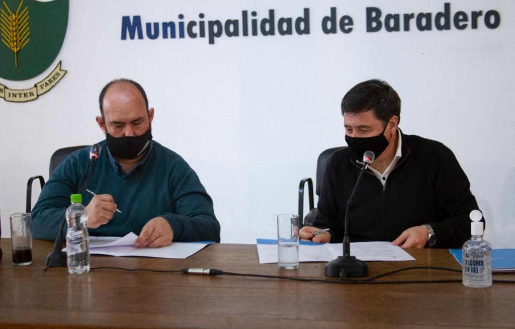 Baradero: Sanzio y el ministro Arroyo anunciaron histórica obra de ampliación del Hogar del Niño