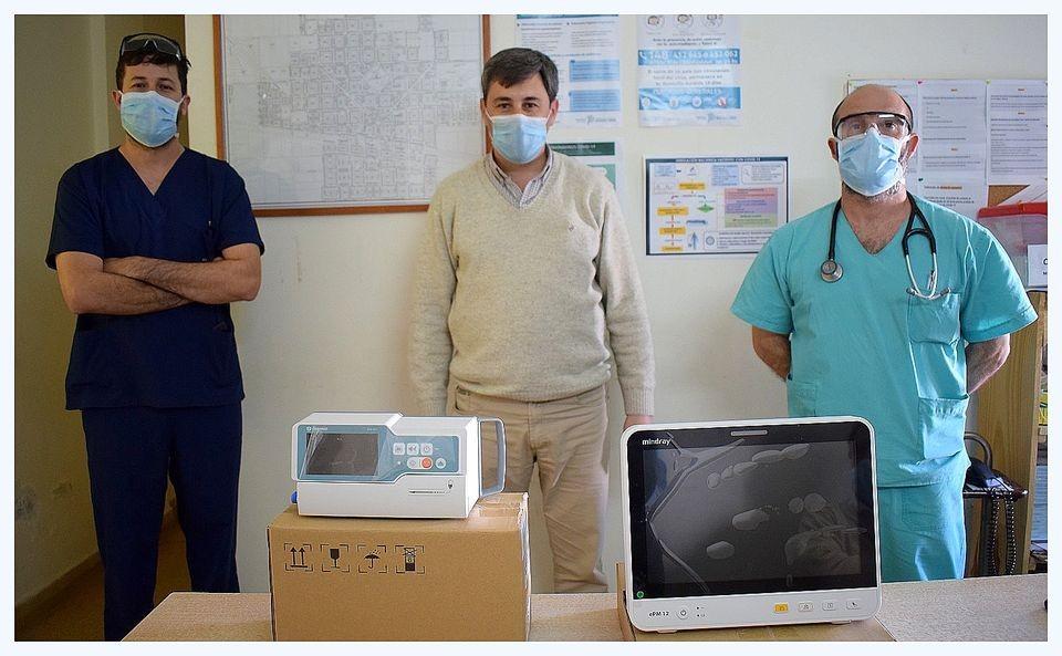 Hipólito Yrigoyen: Nación entregó más equipamiento de calidad para el Hospital Municipal