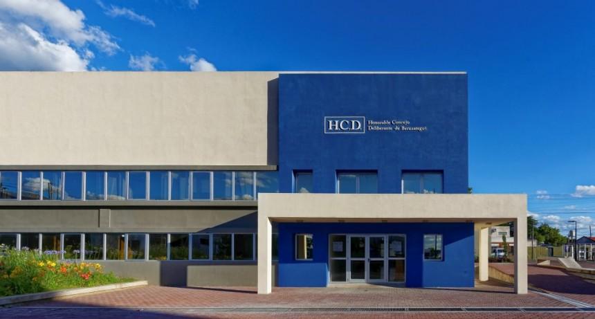 Berazategui: El HCD aprobó por unanimidad una petición para que la Legislatura trate la Ley de Financiamiento