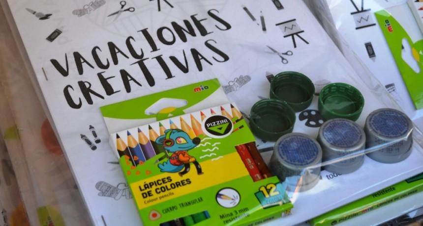 """Tres Lomas: El programa """"Vacaciones Creativas"""" llegó a más de mil niños y niñas del distrito"""