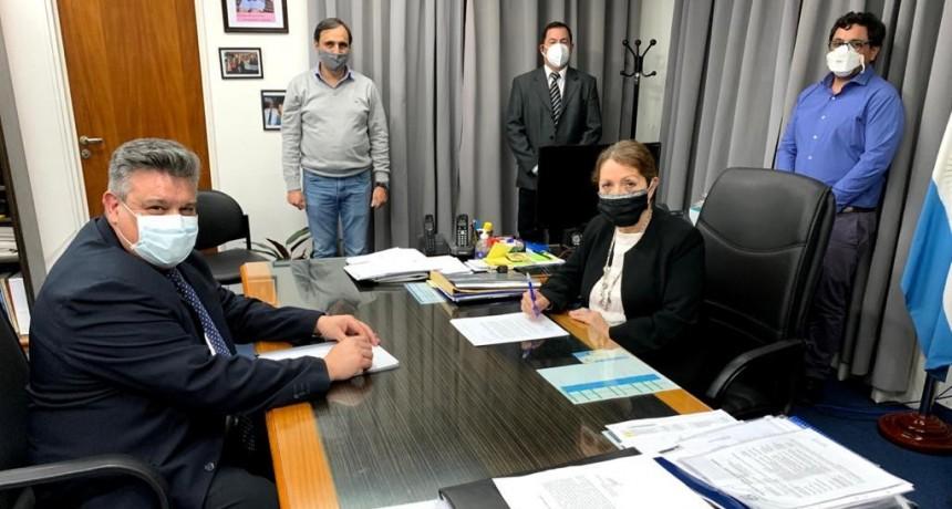 Pte. Perón: La intendenta Cantero destinó un generador eléctrico al hospital Grierson