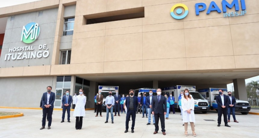 Ituzaingó: Fernández y Kicillof inauguraron la 2da Etapa del Hospital del Bicentenario