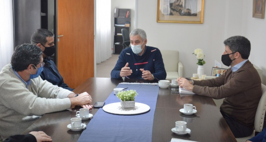 Berisso: Cagliardi se reunió con el presidente de ABSA