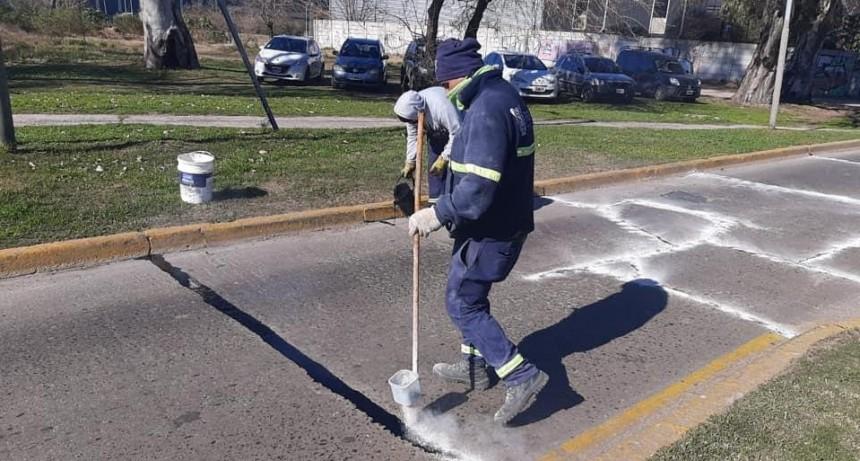 Tigre continúa con labores de mantenimiento vial en calles de Rincón de Milberg