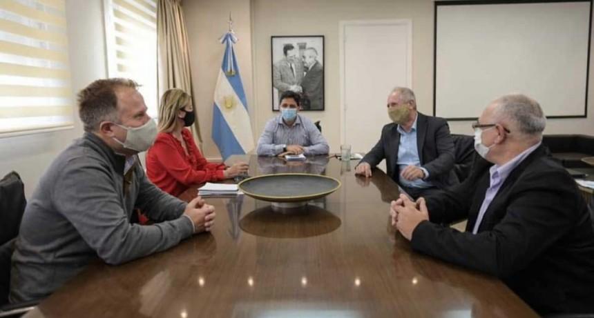 Cañuelas: Marisa Fassi se reunió con el presidente de Trenes Argentinos