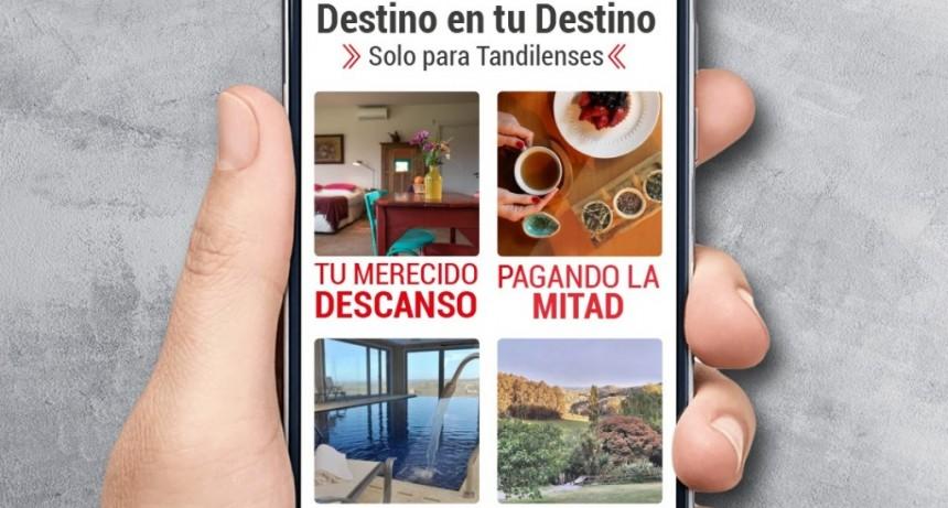 Tandil: El Municipio y el instituto mixto de turismo lanza una promoción en alojamiento