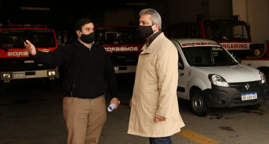 Pergamino: La Municipalidad entregó un subsidio a los Bomberos