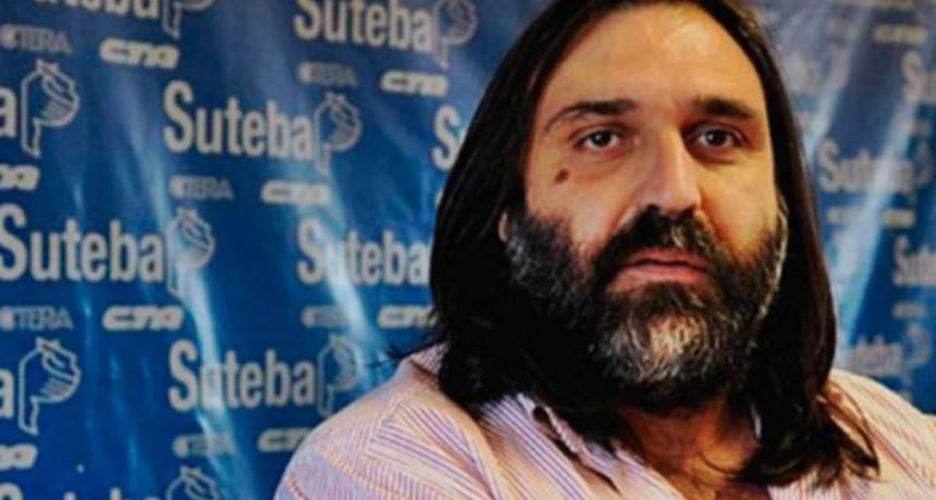 """Baradel: """"No queremos que suceda nunca más lo que sucedió en Moreno con Sandra y con Rubén"""""""