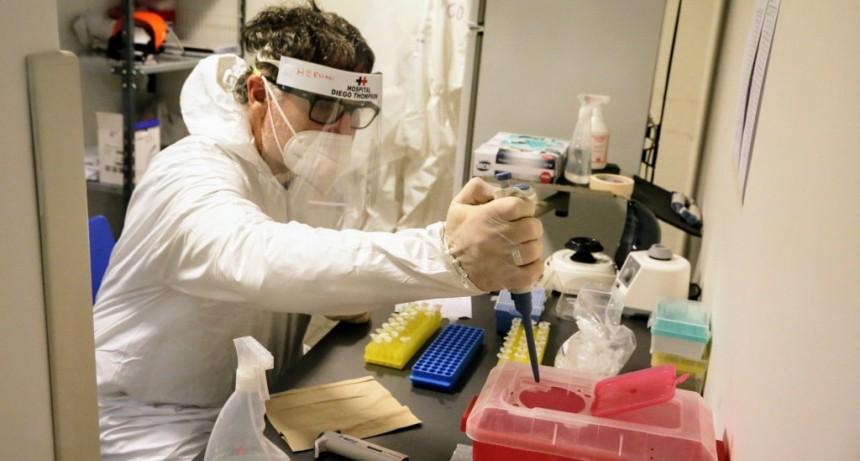 San Martín: El nuevo Laboratorio del Thompson ya analizó más de 800 test rápidos de Covid-19