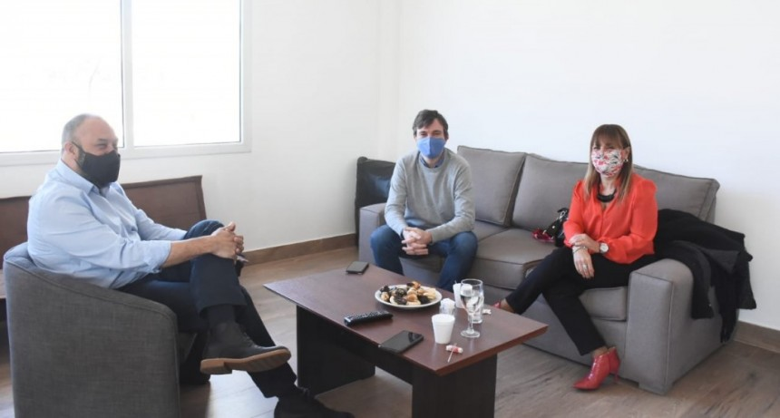 Morón: Lucas Ghi se reunió con la fiscal general Karina Iuzzolino