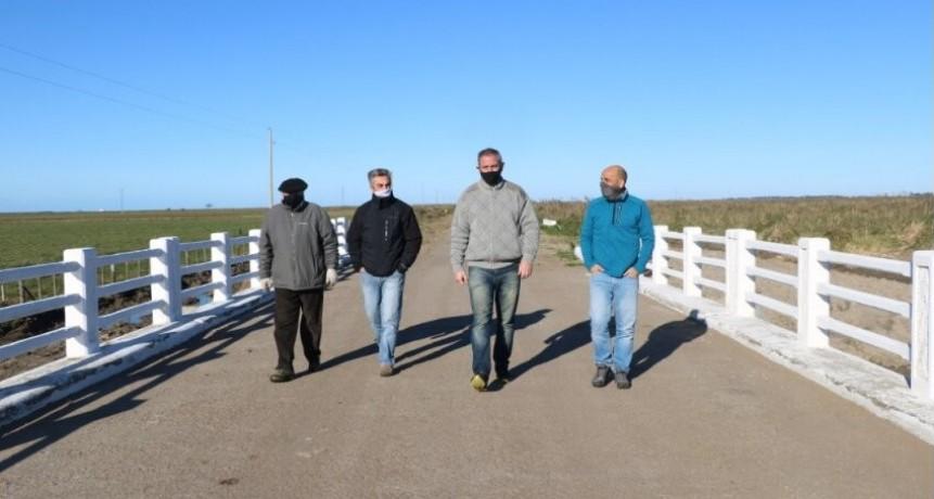 Gral. Juan Madariaga: Reinauguraron el puente de Arroyo Chico