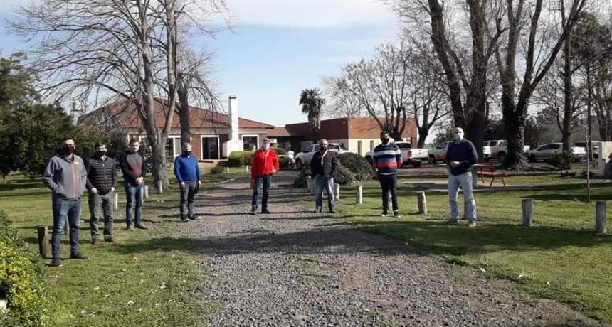 Chivilcoy: Una comitiva encabezada por el diputado Fabio Britos visitó la empresa KWS Semillas