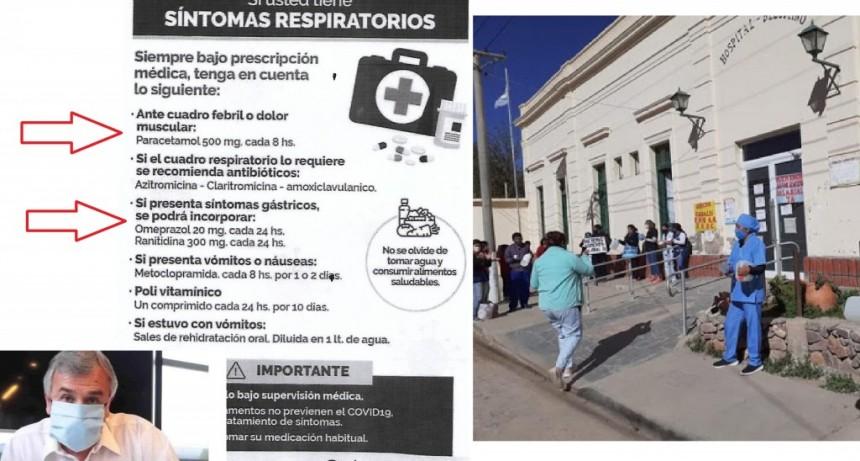 """Mariana Vargas: """"En Jujuy, Morales no solo recomienda medicamentos. Lo hace como un parche en la situación de desborde que tenemos en la provincia"""""""