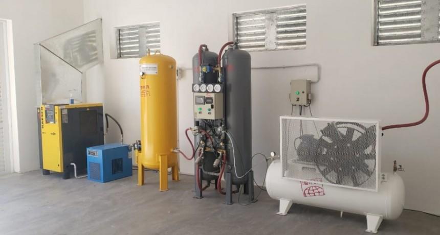 Rivadavia: Quedó inaugurada la nueva planta de oxígeno