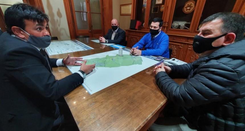 Azul: Reunión con autoridades de Seguridad de la Provincia