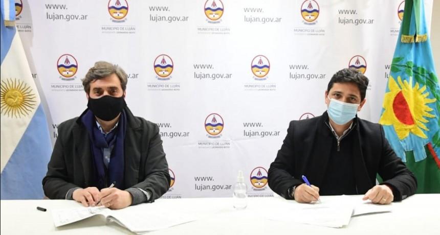 El Municipio y Trenes Argentinos firman importantes convenios para Luján y las localidades