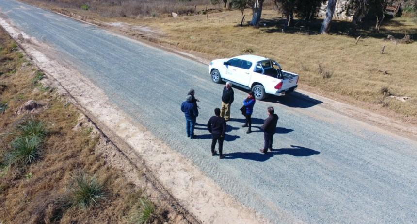 Gral. Villegas: Mejoramiento del camino que une Santa Regina y Cañada Seca