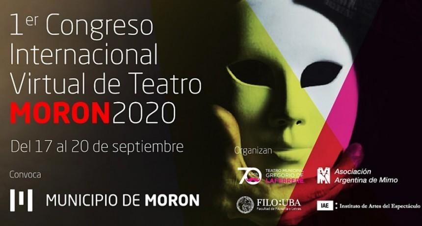 Morón: 1° Congreso Internacional Virtual de Teatro por el 70° aniversario del Gregorio de Laferrere