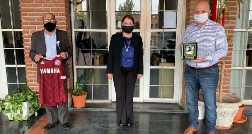 Pte. Perón: La jefa comunal Cantero se reunió con el diputado Russo para trabajar en una agenda post pandemia
