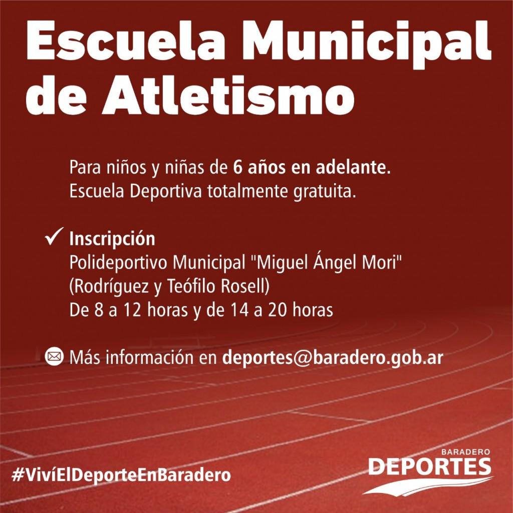 Baradero: Inscripción en las Escuelas Municipales Deportivas totalmente gratuitas