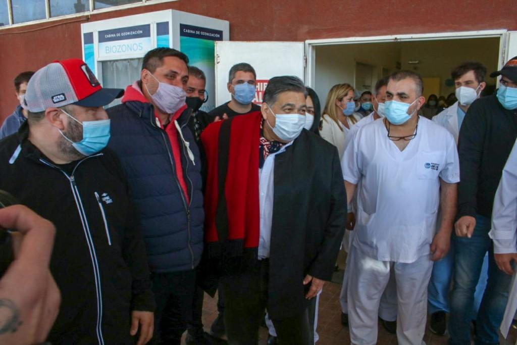 José C. Paz: El Intendente Mario Ishii recibió el alta médica, luego de 12 días de internación
