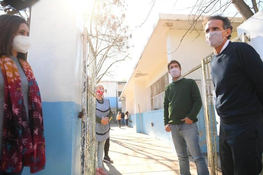 Mercedes: El Intendente Ustarroz y el Ministro Katopodis recorrieron distintas obras en el distrito