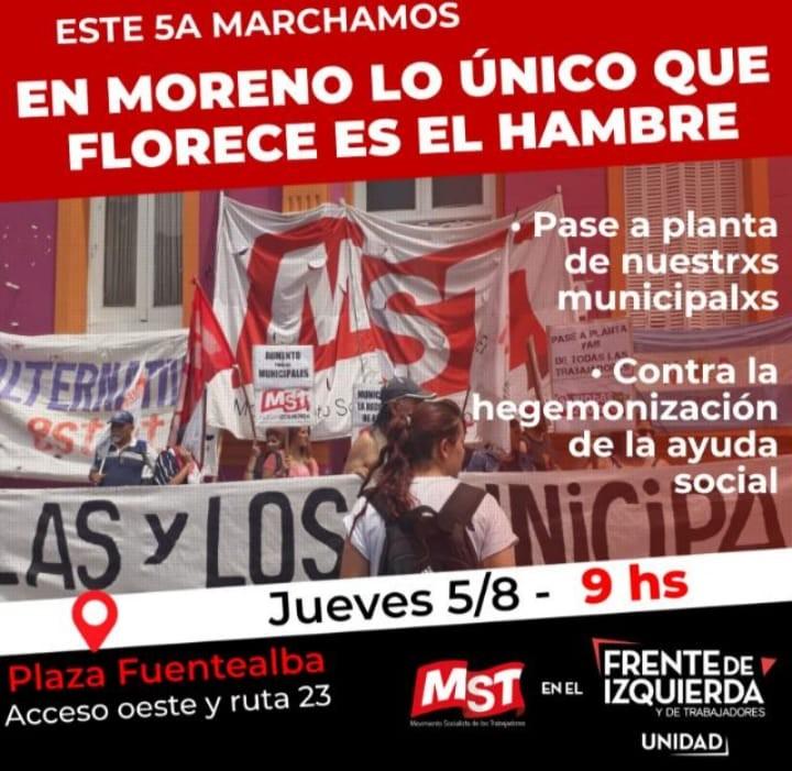 """Pablo Lopardo: """"Nos movilizamos con un montón de reclamos que venimos juntando y la municipalidad no da respuestas"""""""