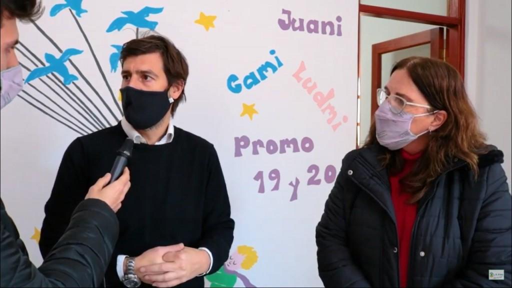 Alem: Ampliación de la Escuela N° 5 Colonia Alberdi