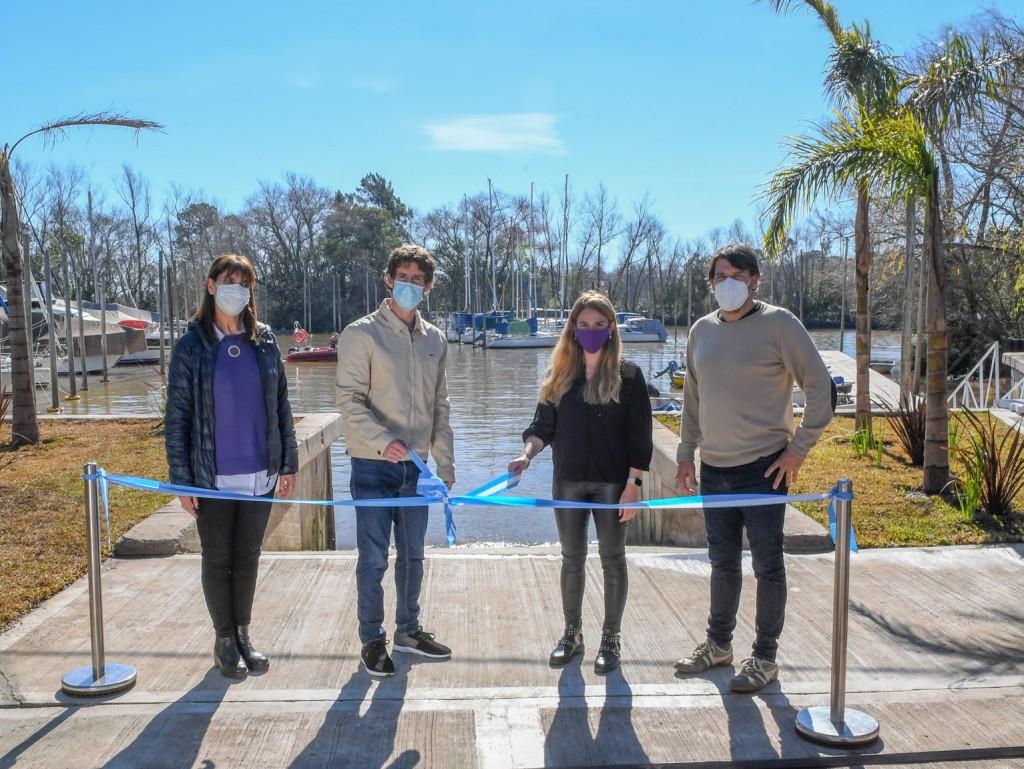 San Fernando: Juan Andreotti inauguró el nuevo Muelle Público para vecinos isleños