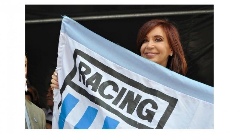 Racing, el estadio elegido por Cristina para el cierre