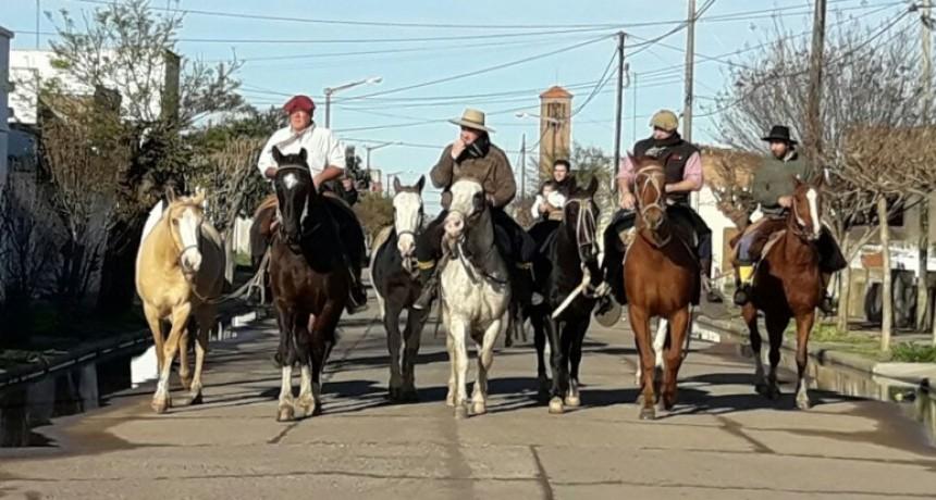 Se inicia la Peregrinación Gaucha a Luján que culmina el domingo 30